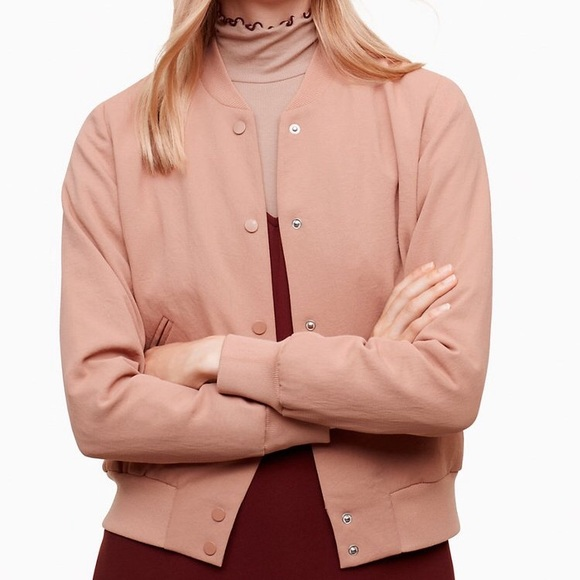 Wilfred Jackets & Blazers - Aritzia Wilfred Poussin Bomber Jacket